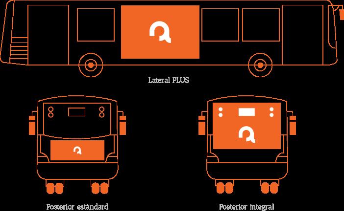 Transport Públic Publicitat Tamany